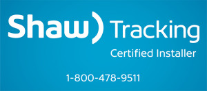 Aidrow Installations Ltd. is Shaw Tracking Certified.