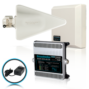 Smooth-Talker Extreme Power Stealth X6 72 or 70 dB 14,000 Ft 3G 4G LTE 6 Band Home and Office Signal Booster