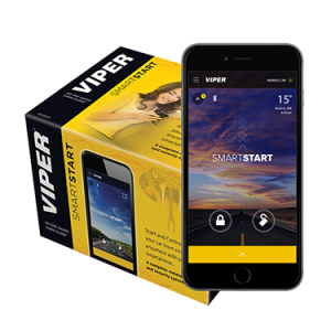 Viper SmartStart VSS5X10 remote and security system via SmartStart app