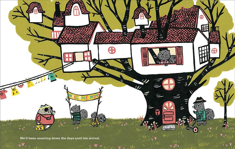 Momo's treehouse