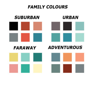 Colourfamilies