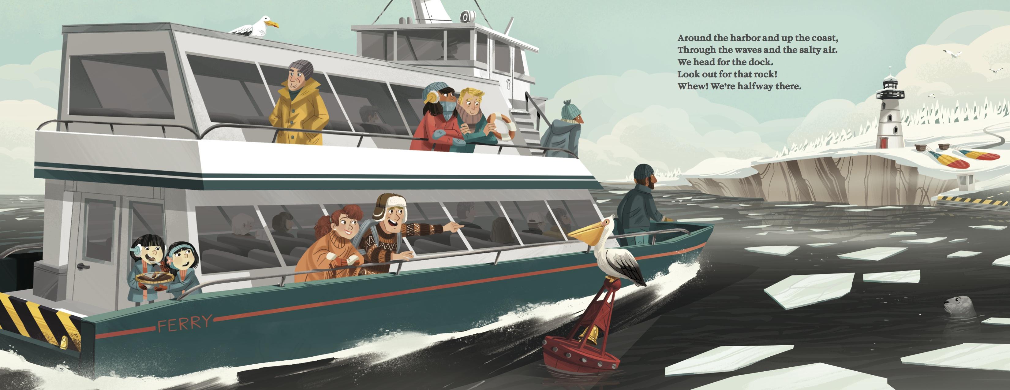 OTR ferry boat