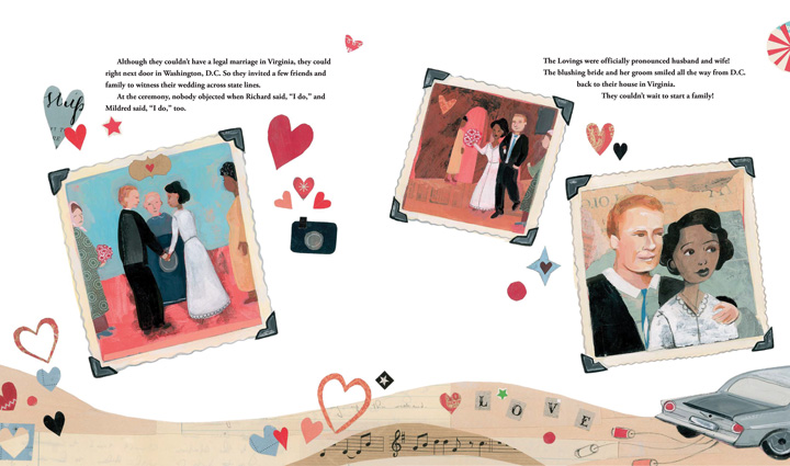 The Case for Loving wedding