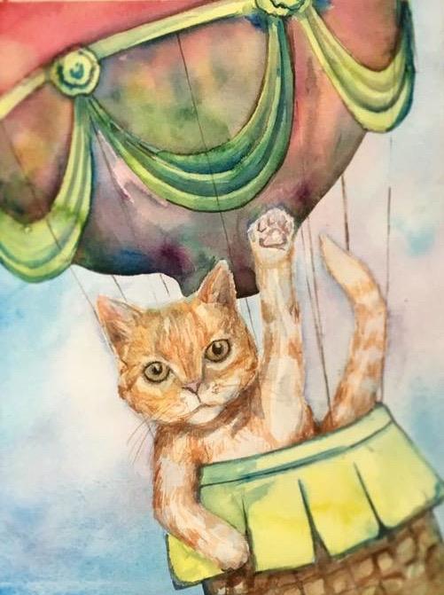 Tabby Cat Illustration