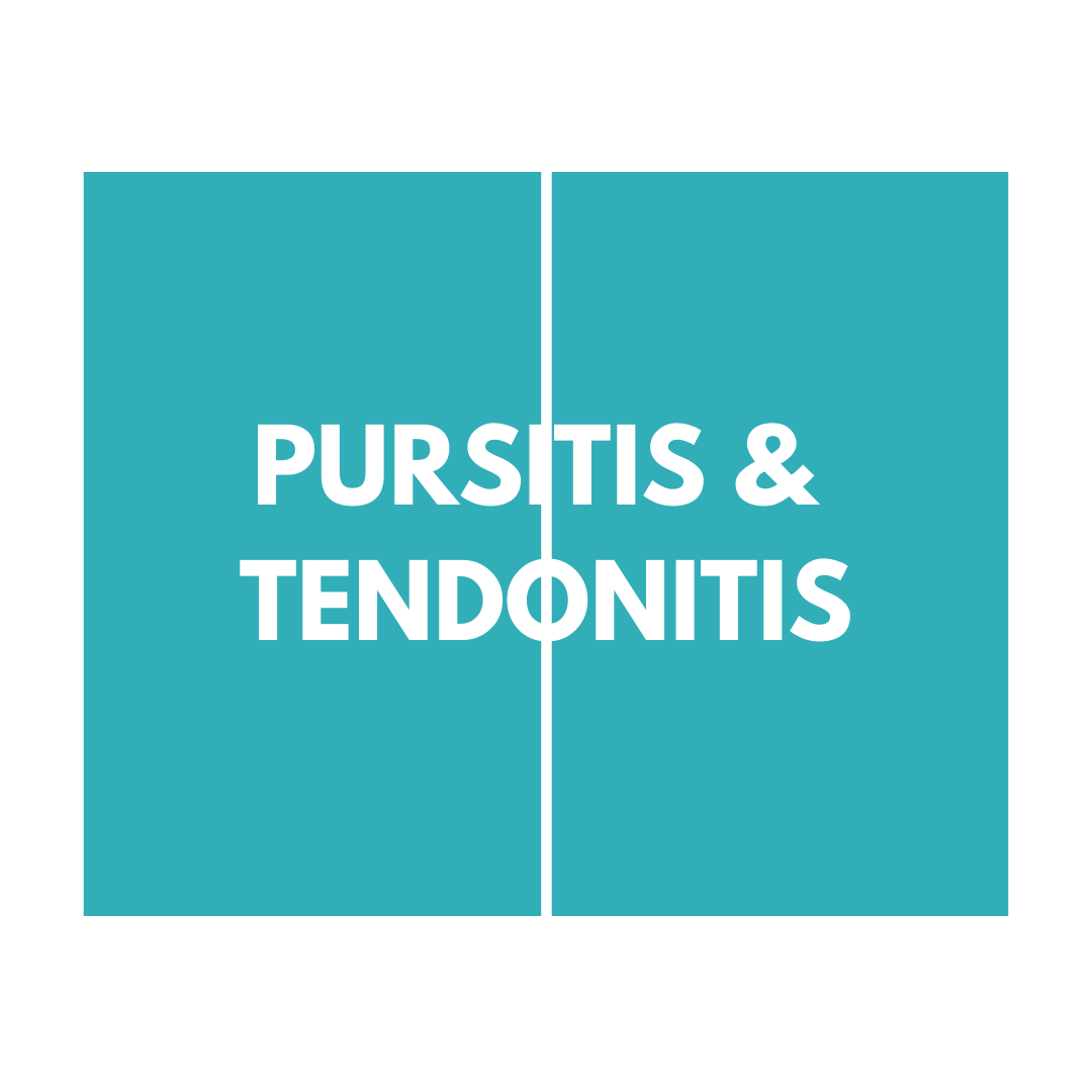 pursitis & tendonitis