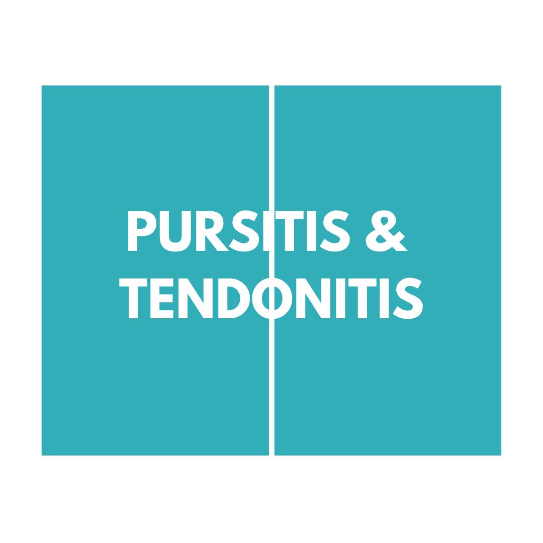 pursitis & tendonitis