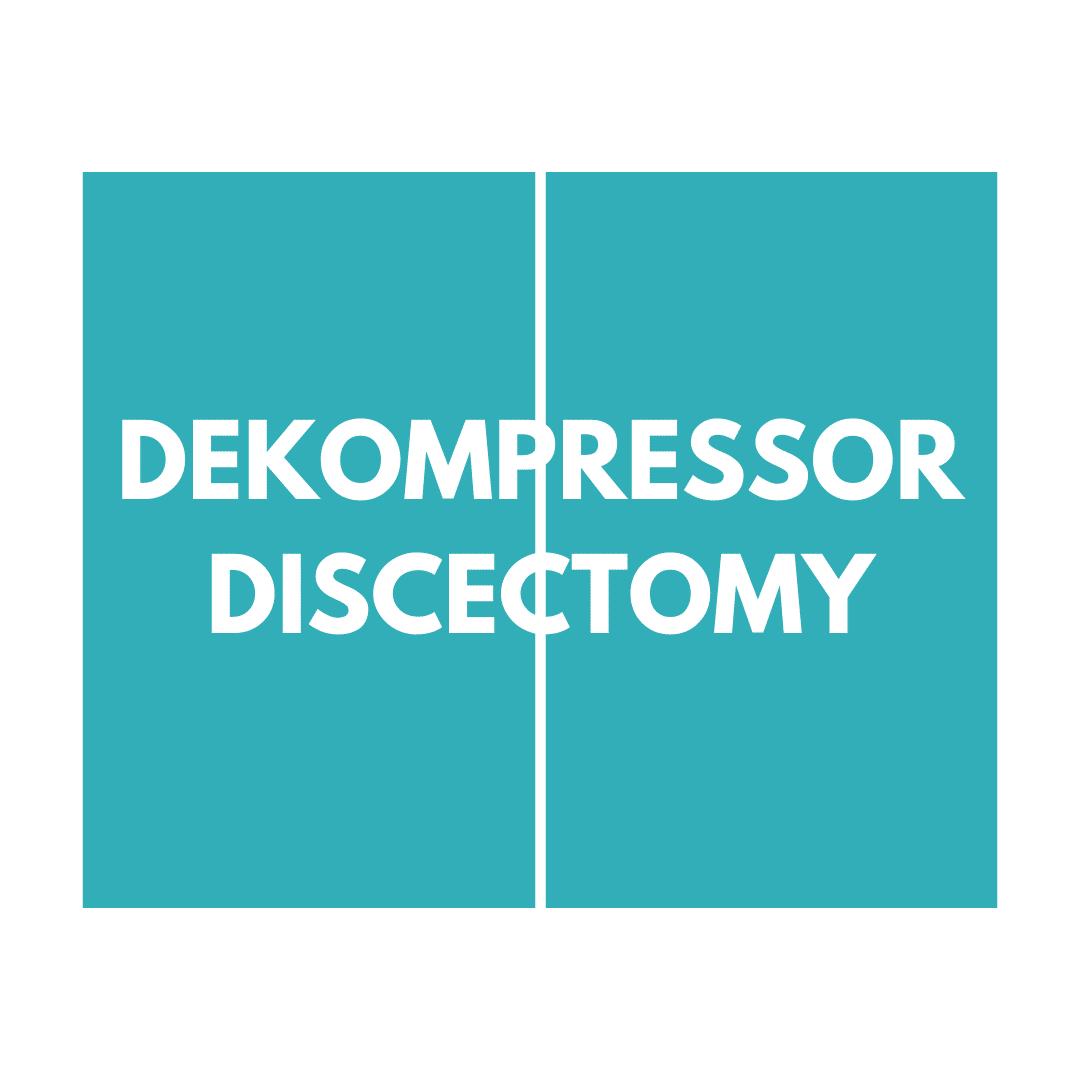 Dekompressor Discetomy