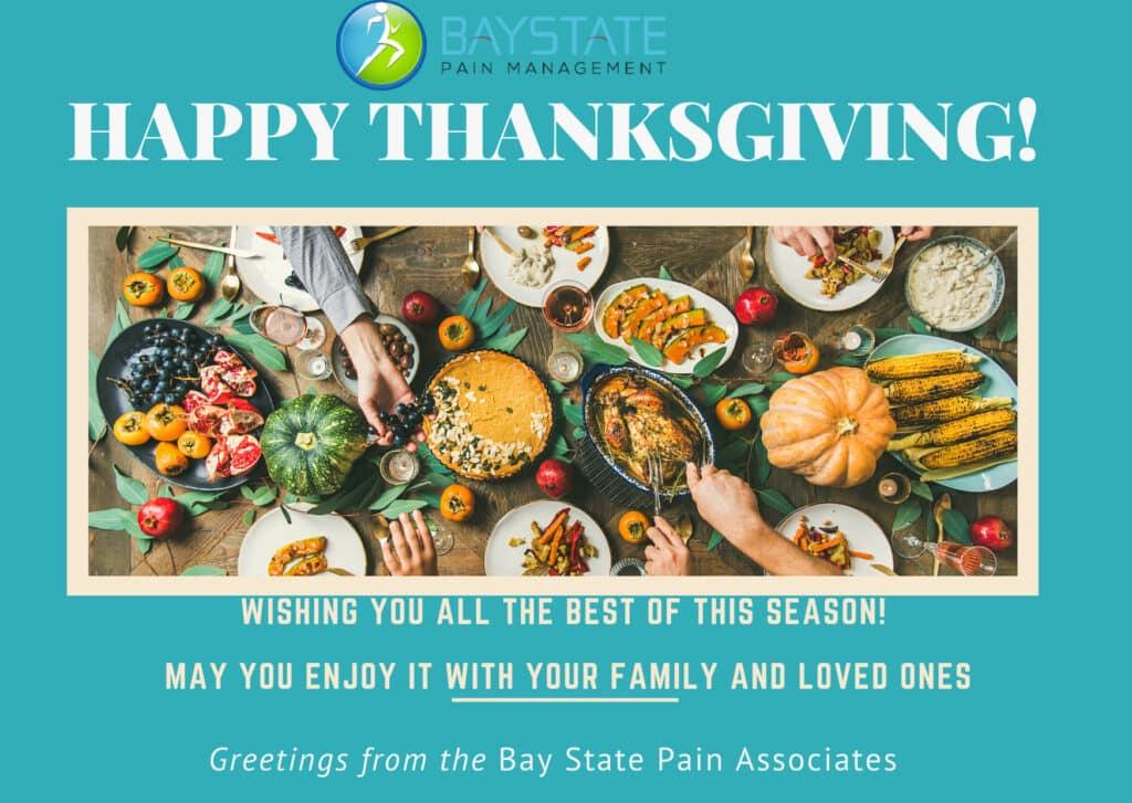 ThanksGiving Bay state pain
