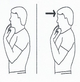Chin Tuck- Neck Retraction