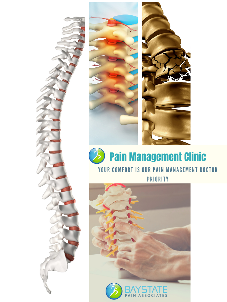 Invasive techniques in pain management involve injections and/or placement of devices into the body. A multitude of invasive pain management therapies have been used to treat neck and back pain.