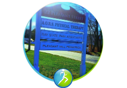Location - Pain Clinic sign