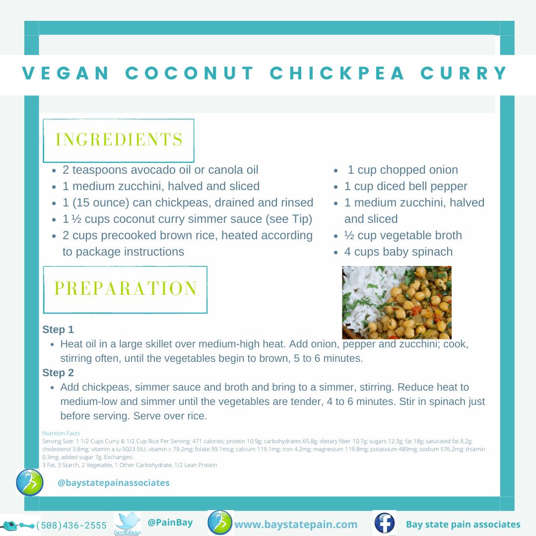 Vegan Coconut Chickpea Curry