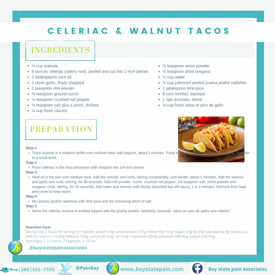 Celeriac & Walnut Tacos