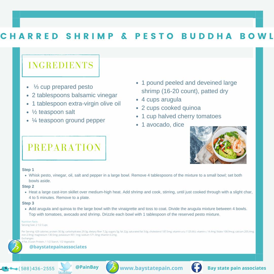 Shrimp & Pesto Buddha Bowl