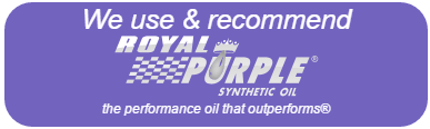 We recommend ROYAL PURPLE SYNTHETIC OIL