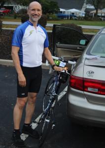 Preparation for the Norton Kiwanis Bicycle Ride