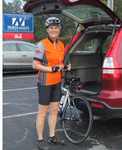 Norton Kiwanis Cider festival Bicycle Rider