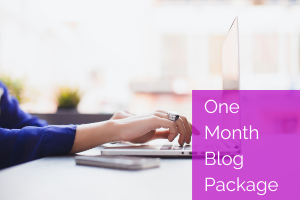 www.RelianceOutwourcing.com one month blog package