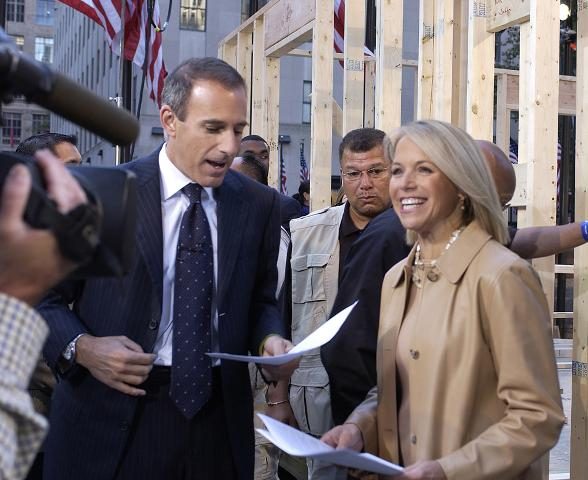 Gary Berry with Katie Couric and Matt Lauer
