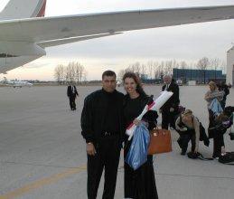 Gary and Maria Shriver