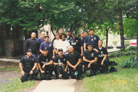Cpt. Brian Smith and Staff