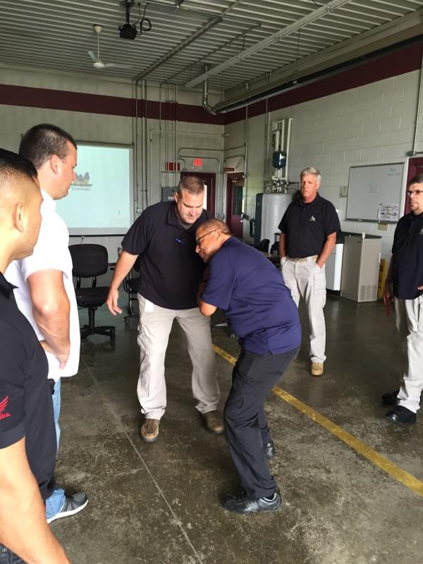 Honda Executive Protection Training 2015