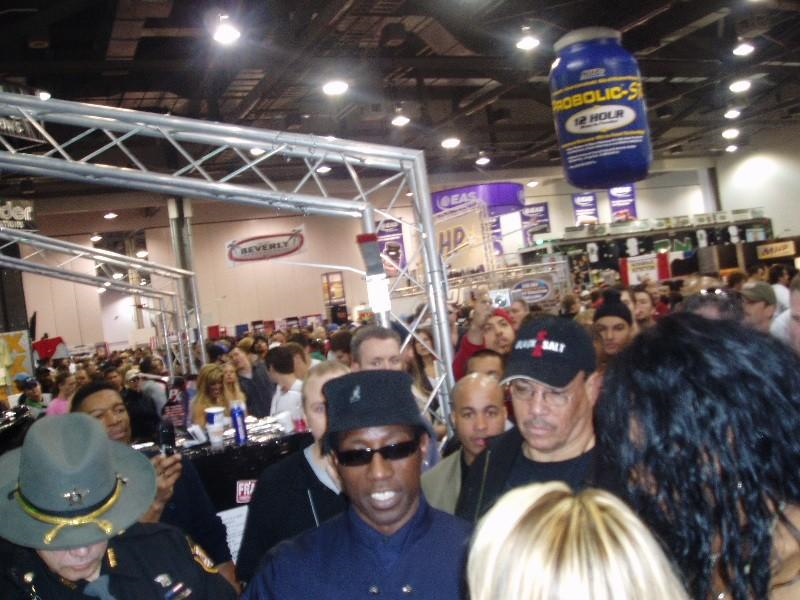 Arnold Classic 2005 Wesley Snipes security detail