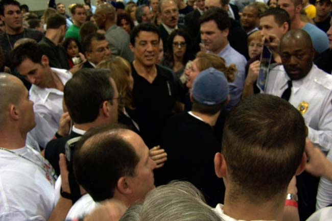 Arnold Classic 2004 Sylvester Stallone