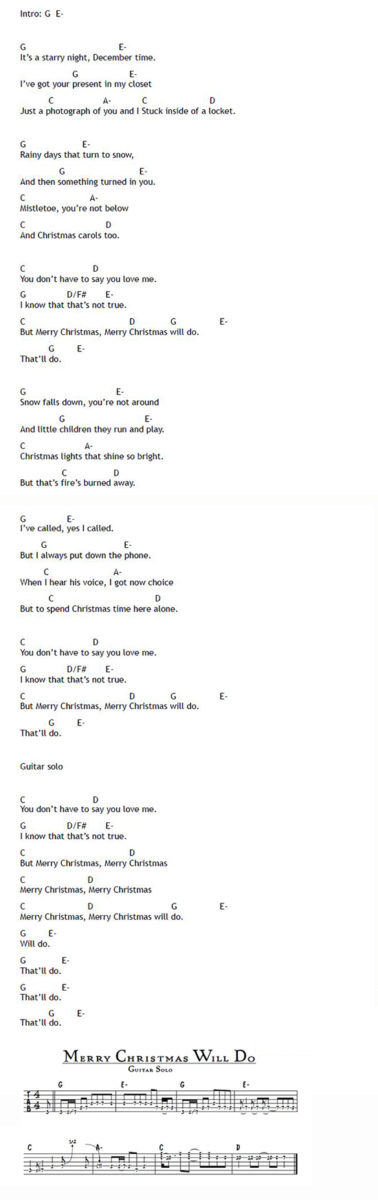 material issue christmas song