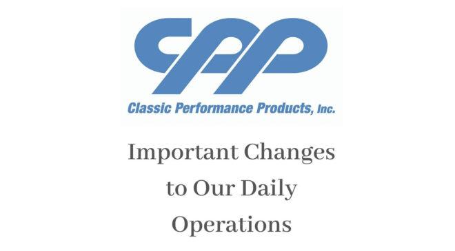 COVID-19 Update CPP