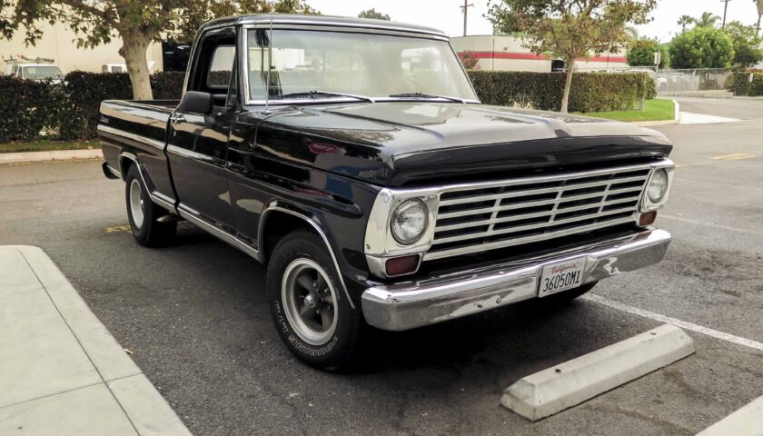 1967 Ford F100 lead image