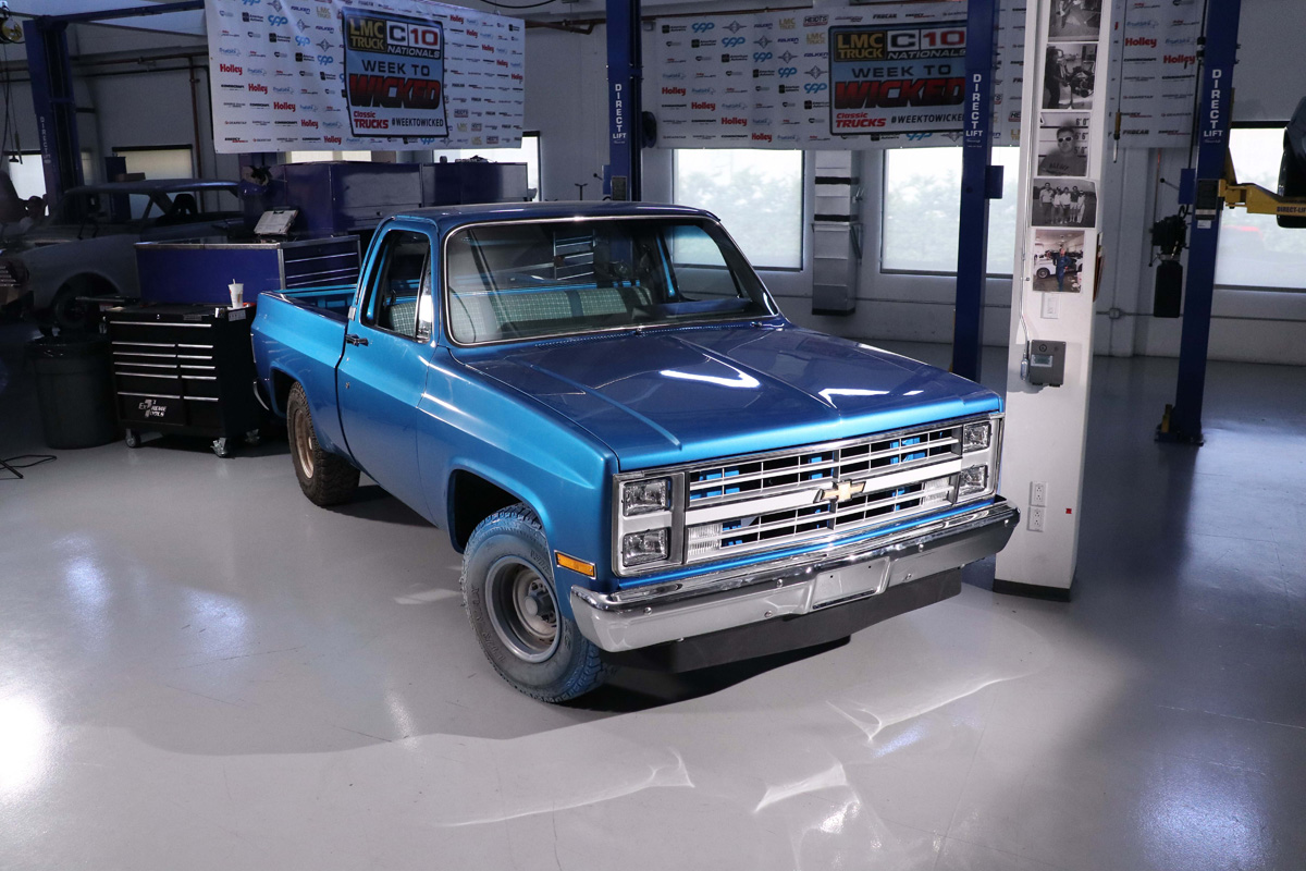 The 1985 Square Body Chevy before the build