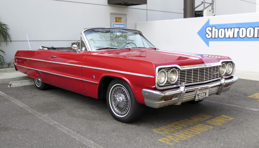 Original 1964 Impala convertible cruise by CPP
