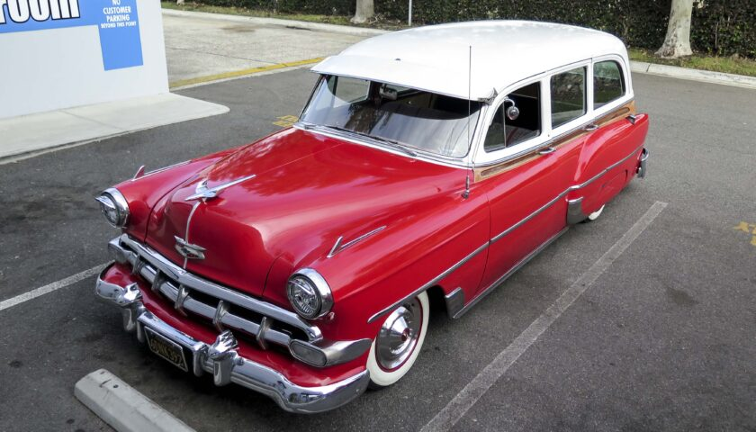 1954 Chevy 210 wagon cruise by CPP