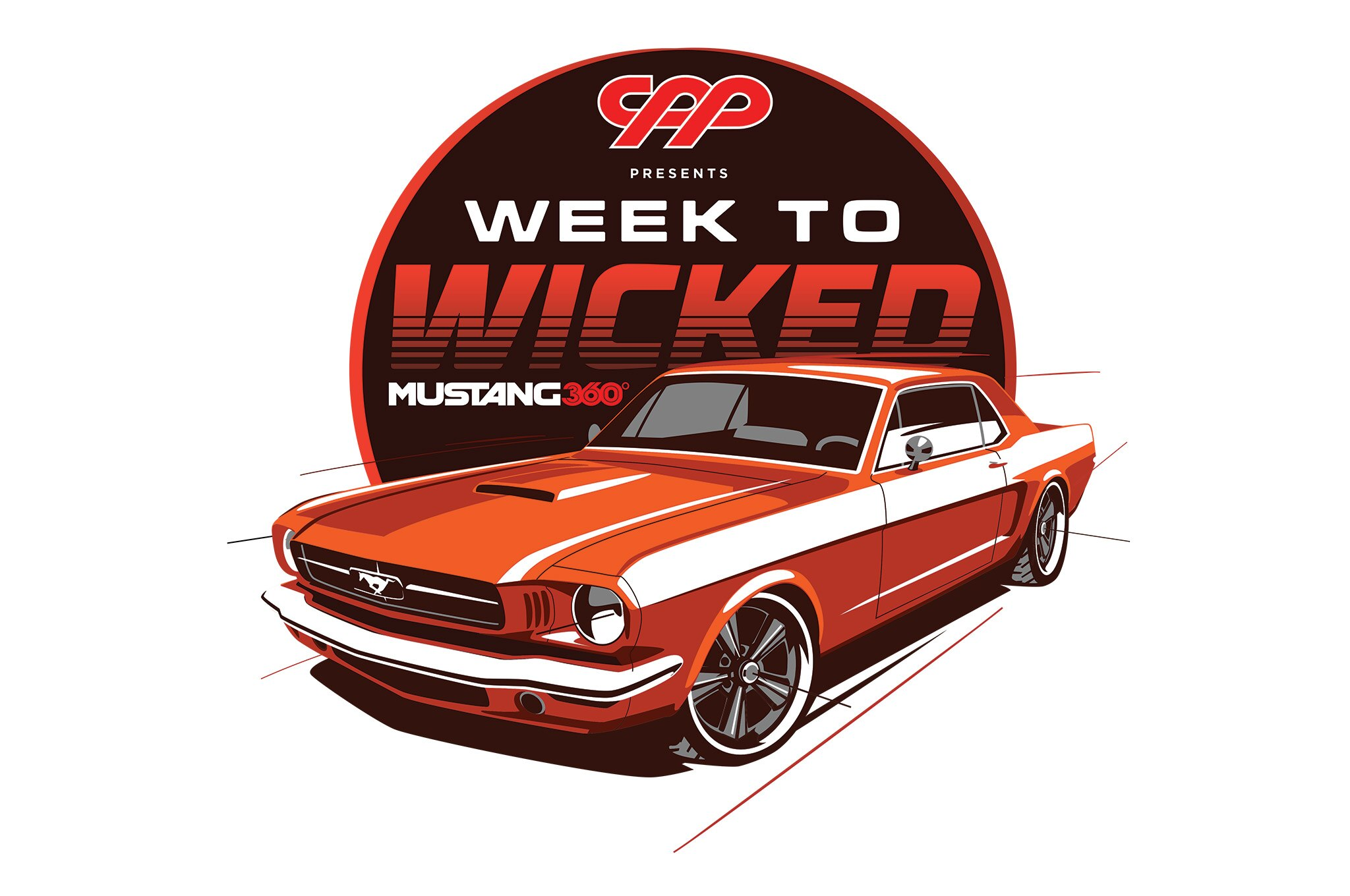 1966 Mustang Restomod Week To Wicked Logo