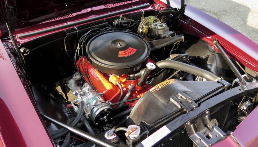 327 ci small-block Chevy in Madeira Maroon 1967 Camaro