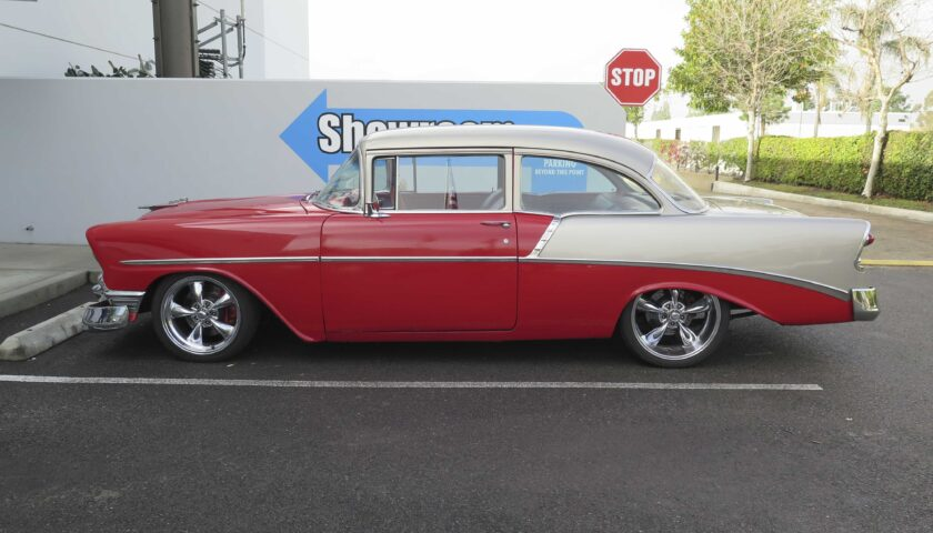 1956 Chevy at the CPP showroom
