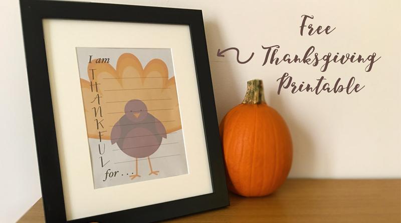 """Thankful"" Craft"