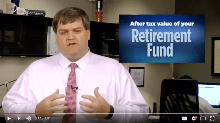 #206: The After Tax Value Of Retirement Funds