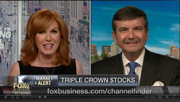 "Fox Business, Liz Claman, asks Powell which sectors investors should watch on ""The Closing Bell"""
