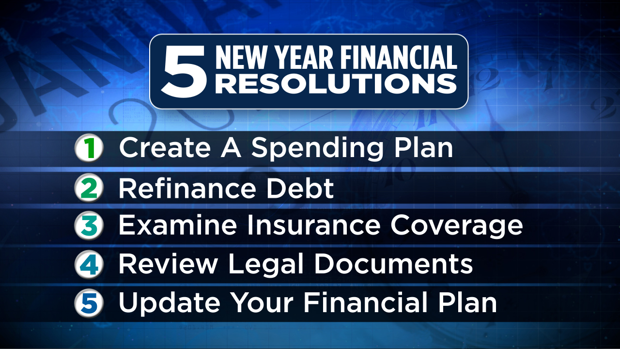 5 New Year Financial Resolutions