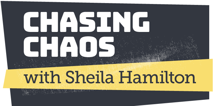 Chasing Chaos with Sheila Hamilton Logo