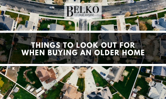 purchasing an older home