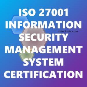 ISO 27001 Certification in Bangalore Karnataka