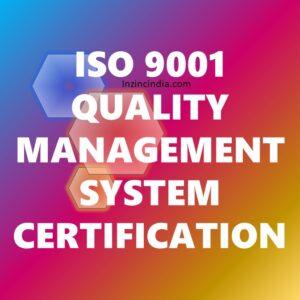 ISO 9001 Certification in Bangalore Karnataka