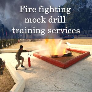 Fire fighting mock drill training services in Bangalore