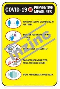 covid 19 preventive measures