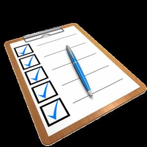 covid care checklist