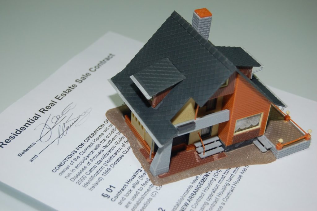 A real estate contract