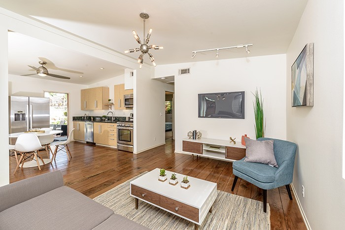 CLOSED – Record High, Per Square Foot, Westside Costa Mesa – Chic Remodeled Mid-Century Modern Bungalow
